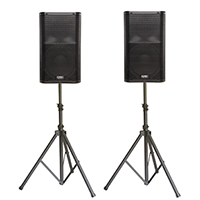 powered speaker rental wichita kansas